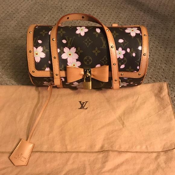 5a827aaf93e Louis Vuitton Handbags - Louis Vuitton Cherry Blossom Murakami Papillon